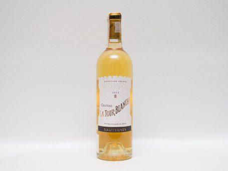 La nobilta del gusto Vin La Tour Blanche 2015 Sauternes
