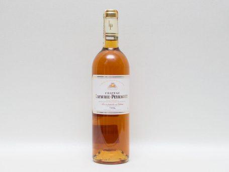 La nobilta del gusto Vin Lafaurie Peyraguey 1996