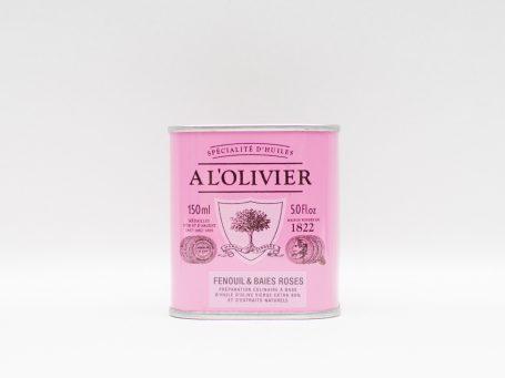 Produse franceze A L'Olivier chimen și fructe de pădure roz
