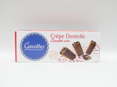 Produse franceze Biscuiți Gavottes ciocolată neagră