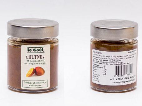 Produse italiene Chutney Le Gout cu mango și ananas