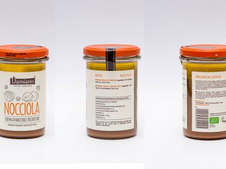 Produse organice Cremă Damiano din alune de pădure BIO