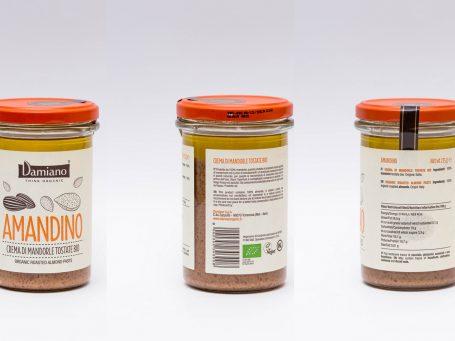 Produse organice Cremă Damiano din migdale BIO