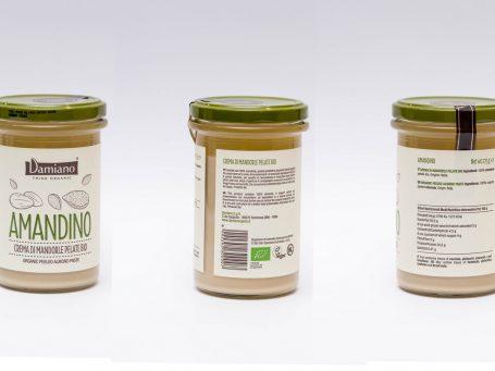 Produse organice Cremă Damiano din migdale BIO raw