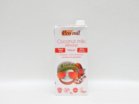 Produse organice EcoMil cocos și migdale