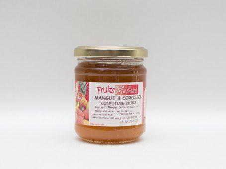 Produse franceze Gem din mango și graviola