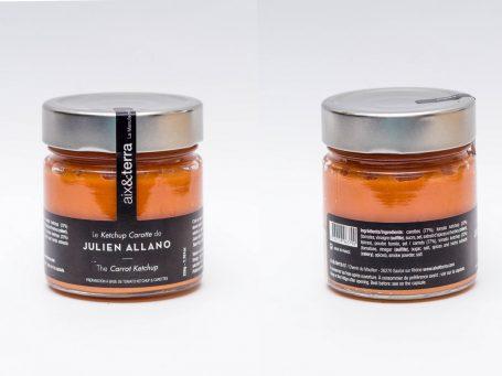 Produse franceze Ketchup cu morcov