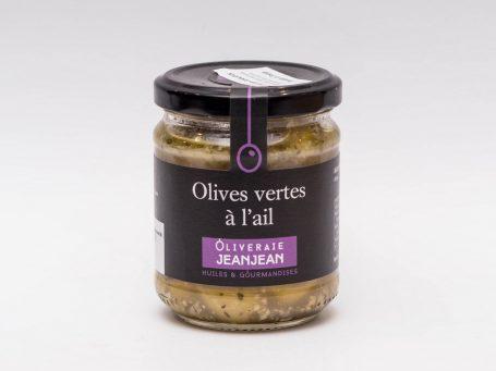 Ulei din măsline Măsline verzi cu usturoi