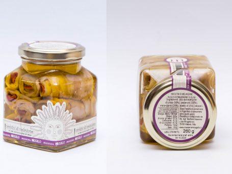 Produse italiene Masseria Mirogallo Involtini di melanzane