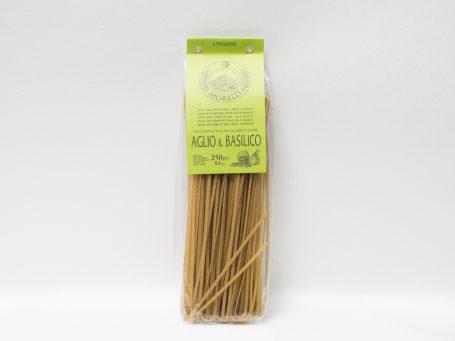 Produse italiene Morelli cu usturoi și busuioc