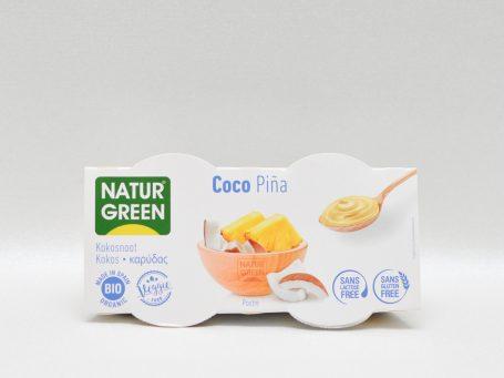 Produse vegane Natur Green cocos și ananas