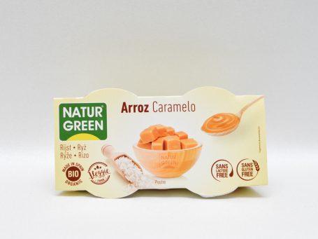 Produse vegane Natur Green orez și caramel