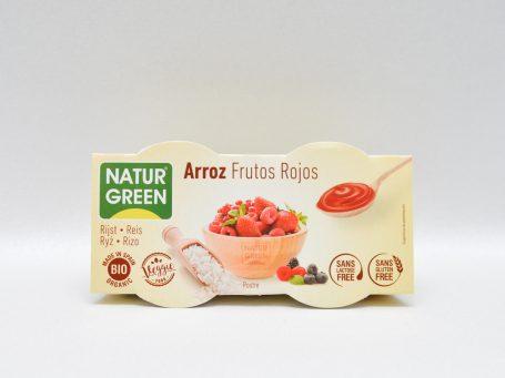 Produse vegane Natur Green orez și fructe roșii