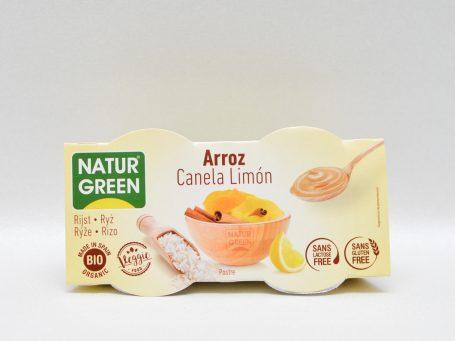 Produse vegane Natur Green orez și lămâie