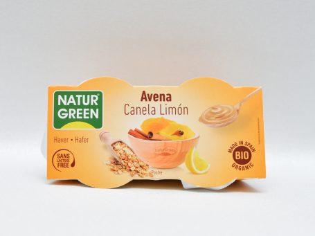Produse vegane Natur Green ovăz și lămâie