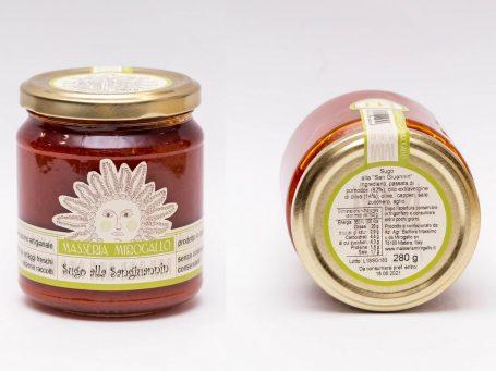 Produse italiene Pastă de roșii alla Sangiuannin Masseria Mirogallo