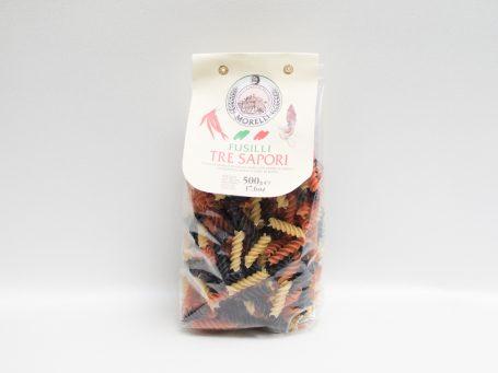 Produse italiene Paste Fusili Morelli Trei gusturi