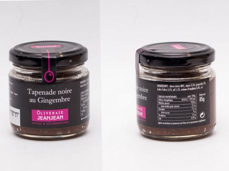 Produse franceze Tapenadă de măsline negre cu ghimbir