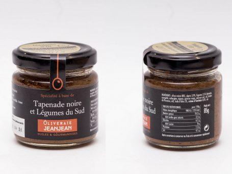 Produse franceze Tapenadă de măsline negre cu legume din Sud