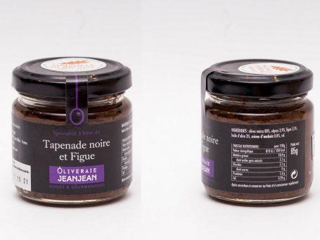 Produse franceze Tapenadă de măsline negre cu smochine 85g