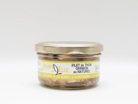 La nobilta del gusto jean_de_luz filet de thon gemon au naturel