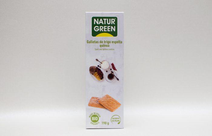 biscuiti green quinoa 190g